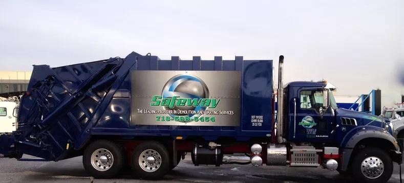 Dumpster Truck - Safeway Services