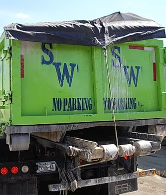 Safeway Carting Corp Dumpster Truck and Container